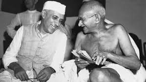 Gandhi and Nehru