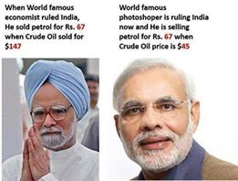 Modi and Manmohan