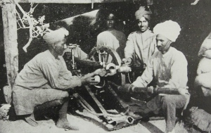 An Indian mountain gun at Anzac