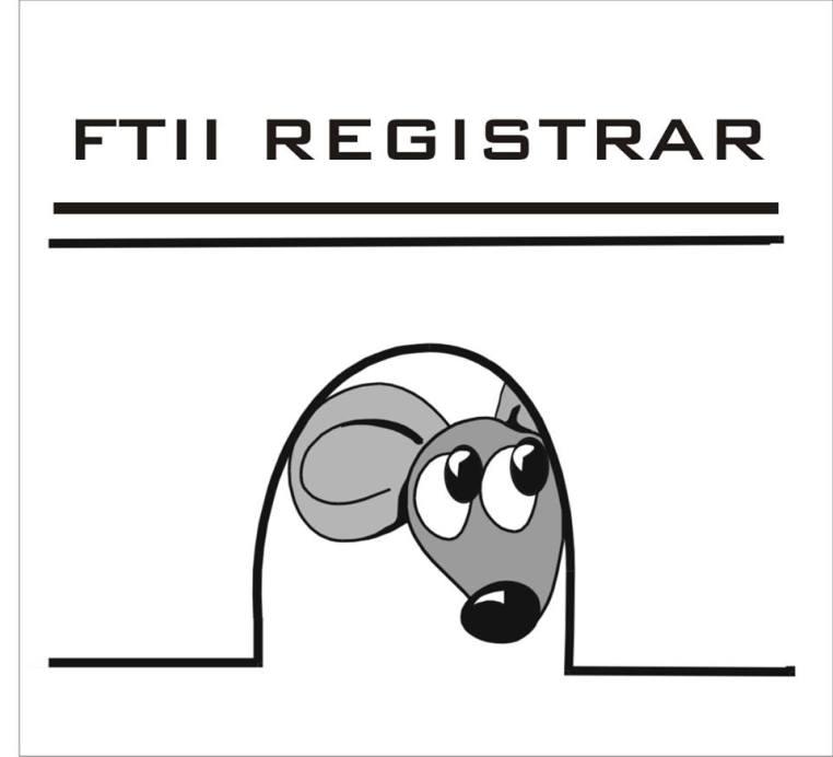 FTII Registrar