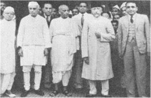 large-Pandit Nehru and Maulana Abul Kalaam Azaad