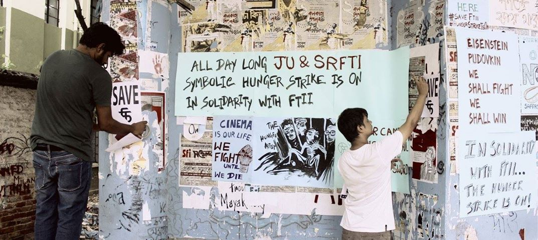 All Day Long Ju And Srfti Symbolic Hunger Strike In Solidarity