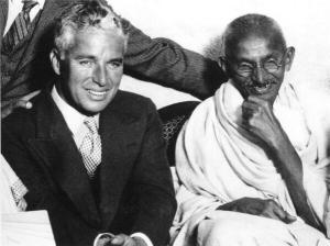 Gandhi chaplin