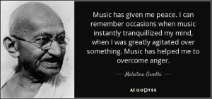 Gandhi music